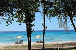 Looking From Southern Surf To Rockley Beach Barbados